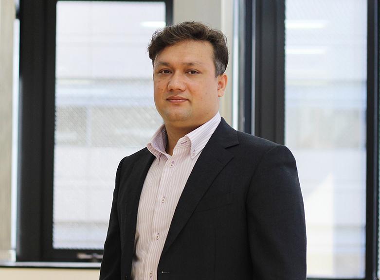 エコノハスカイ株式会社 代表取締役 トリパティー アガニ ラジの写真