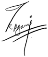 代表サイン トリパティー アガニ ラジ